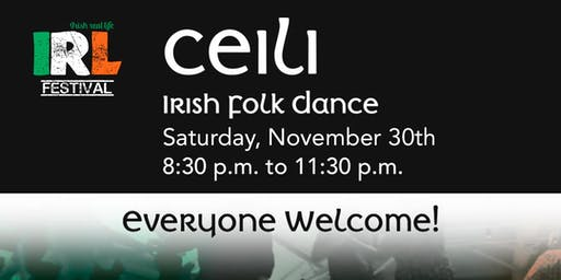 Ceili - Irish folk dance for everyone!