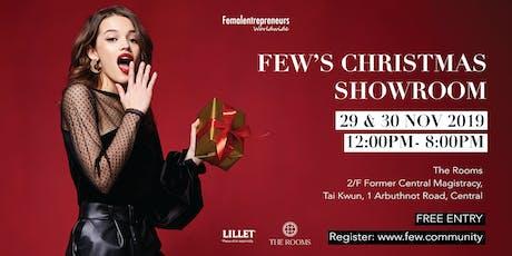 FEW's Christmas Showroom tickets