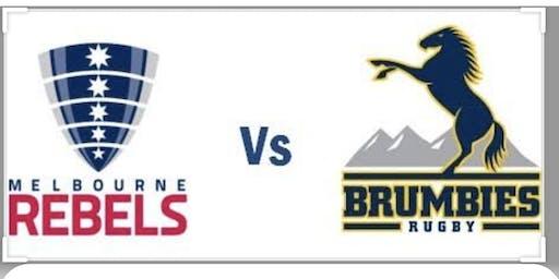 Super Rugby Trial - Rebels v Brumbies in Albury