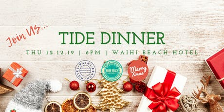 TIDE Christmas Dinner 2019 tickets