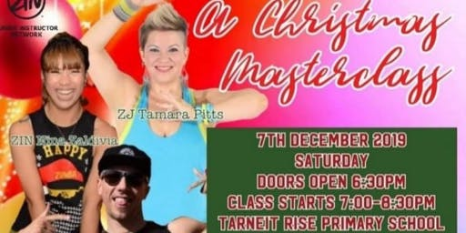 A Christmas Masterclass with ZES Jarrod, ZJ Tamara and ZIN Nina