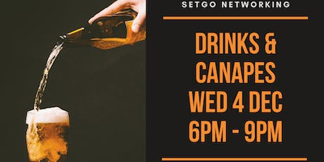 Drinks and Canapés by setGO tickets