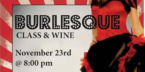 Burlesque and Wine