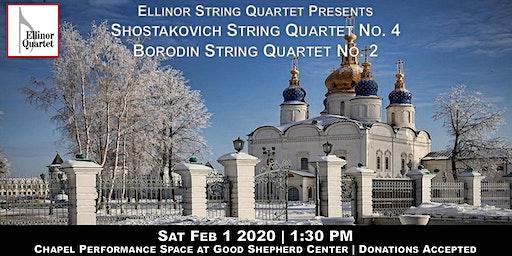 Shostakovich String Quartet No. 4 and Borodin String Quartet No. 2