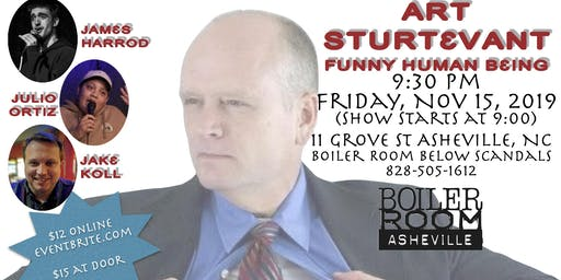 Comedy at the Boiler Room with Art Sturtevant