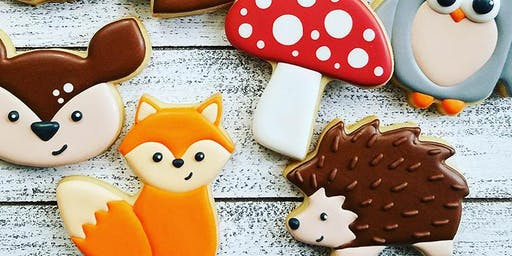 Woodland animals beginner cookie class