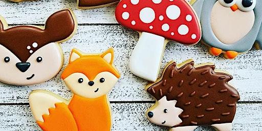 Woodland animals beginner cookie class