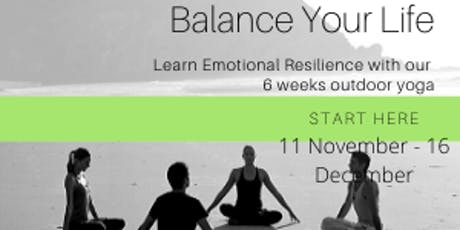 Learn Emotional Resilience 6 Weeks Yoga Workshop tickets