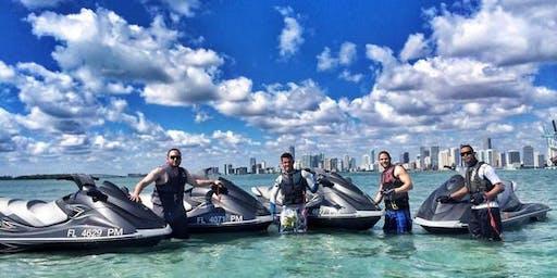 JETSKI RENTAL MIAMI BEACH FLORIDA 1 HOUR OR MORE