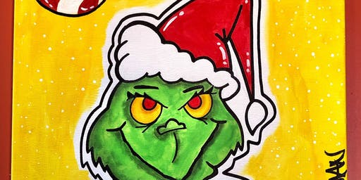 Grinch Caffeine & Canvas with Tommy Vinci