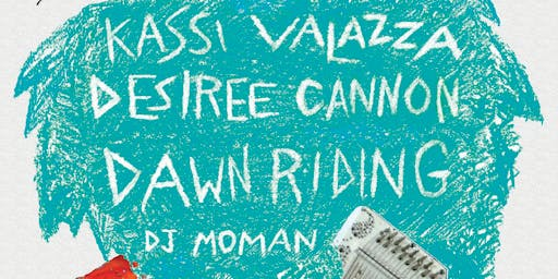 Kassi Valazza, Dawn Riding, & Desiree Cannon at Legionnaire Saloon