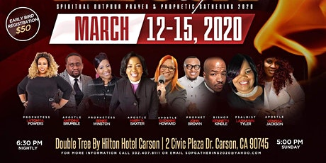 Spiritual Outpour Prayer & Prophetic Gathering tickets