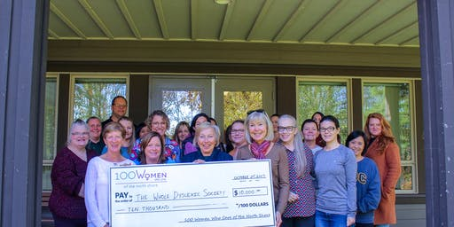 100 Women Who Care North Shore December 2, 2019 Meeting