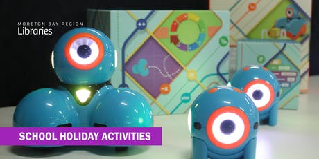 Rise of the Robots: Dots and Dashes (6-12 years) - Caboolture Library tickets