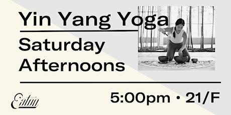 Yin Yang Yoga at Eaton HK tickets