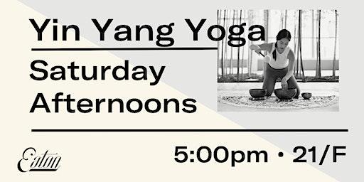 Yin Yang Yoga at Eaton HK