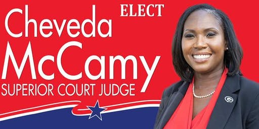 Elect Cheveda McCamy for Superior Court Judge--Fundraiser Meet & Greet