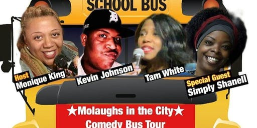 MoLaughs in the City Comedy Bus Tour