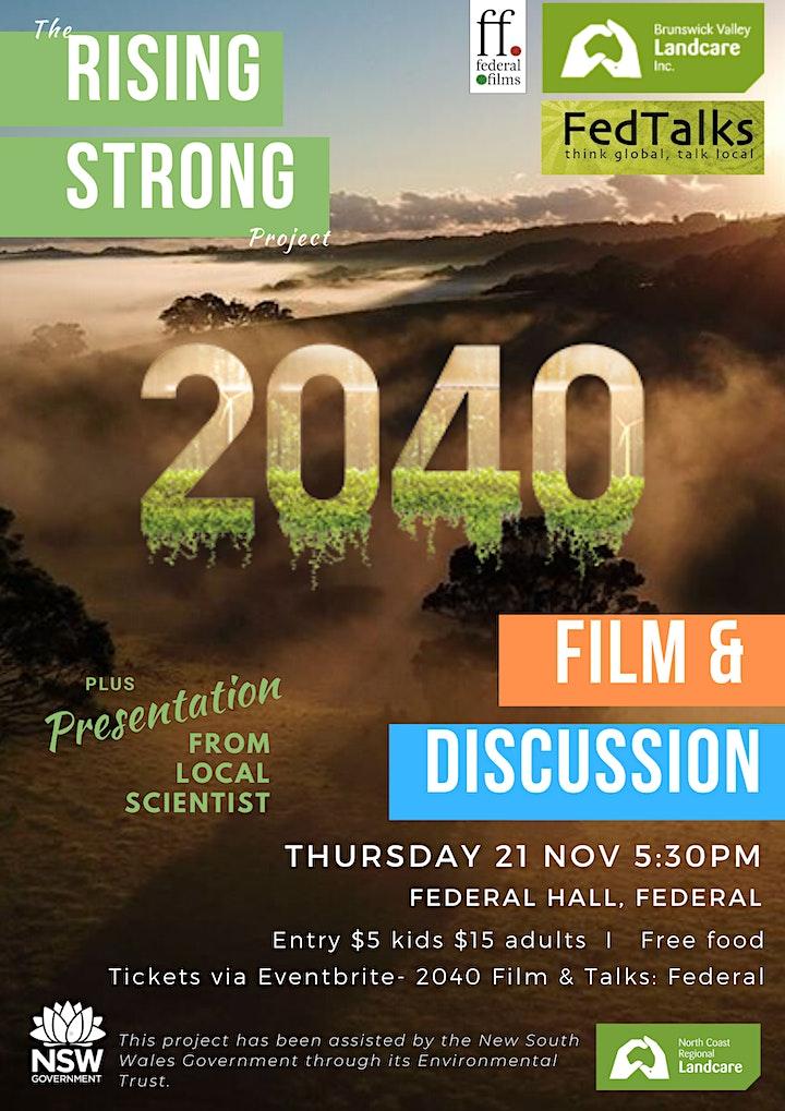 2040 Film & Talks: Federal image