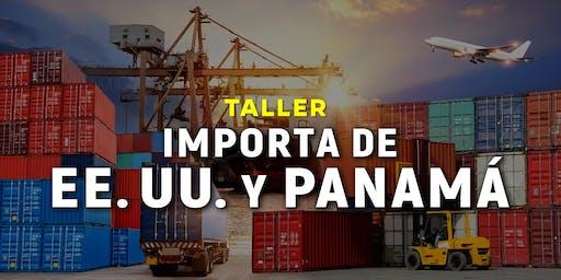 Importa de Estados Unidos y Panamá