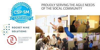 Certified Scrum Professional - ScrumMaster - Orange County - March 2020