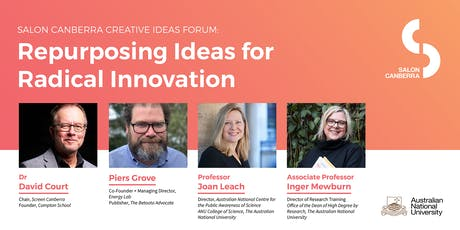 Salon Canberra: Repurposing Ideas for Radical Innovation tickets