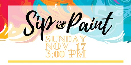 Sip and Paint! at Tribes Barber Studios