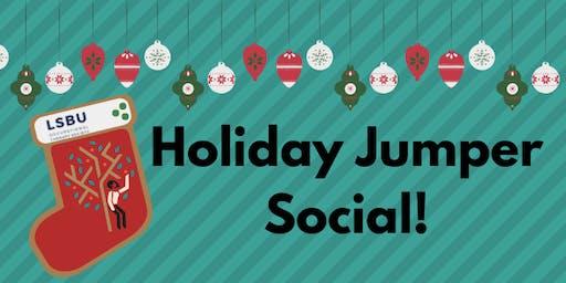Holiday Jumper Social!
