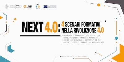 Next 4.0: quattro scenari formativi nella rivoluzione 4.0