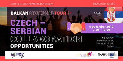 Learn about Czech-Serbian collaboration opportunities! (Belgrade, Serbia)