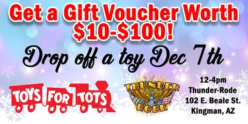 Thunder-Rode's 2nd Annual Togs 4 Tots Toy Drive in Kingman, AZ