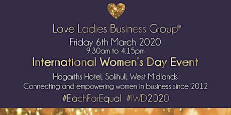 #LoveBiz International Women's Day Event - West Midlands tickets