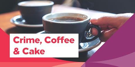 Crime Coffee & Cake tickets