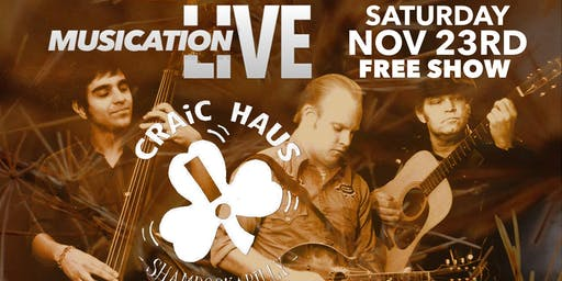 Musication Live with Craic Haus