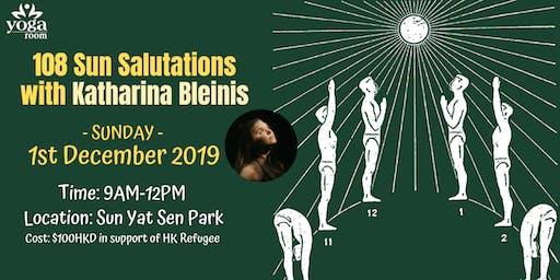 108 Sun Salutations with Katharina Bleinis