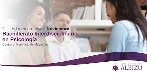 Clases Demostrativas- Bachillerato Interdisciplinario en Psicología