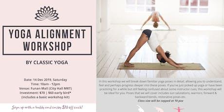 Yoga Alignment Workshop tickets
