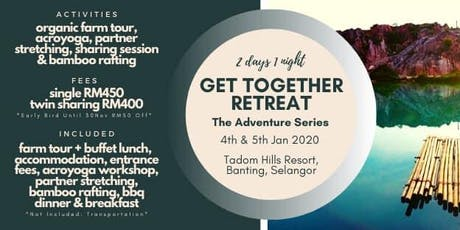 Get Together Retreat: Adventure Series tickets