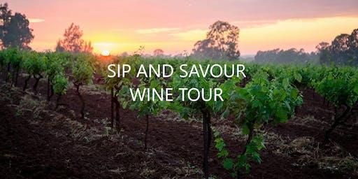 Sip and Savour Wine Tour