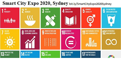 11th International Smart City Expo 2020,   Sydney tickets