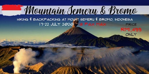 Mount Semeru and Bromo