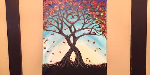 "Sip and Paint - ""Autumn Love"" @ Beerocracy"