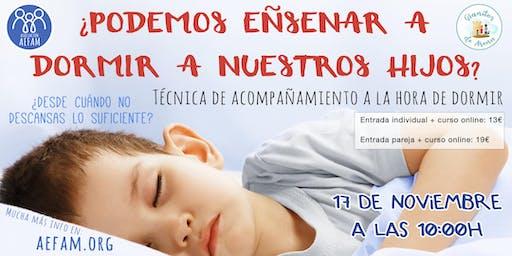 ¿Podemos enseñar a dormir a nuestros hijos? Técnica de acompañamiento.