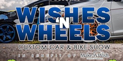 """742 Marketing Presents """"Wishes 'N Wheels"""" Custom Car & Bike Show - Benefiting Make A Wish Los Angeles"""
