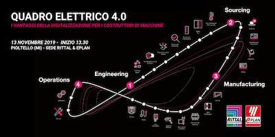 Quadro Elettrico 4.0 - La digitalizzazione per i costruttori di macchine