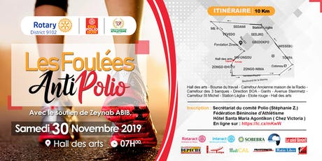 LES FOULEES ANTI POLIO billets