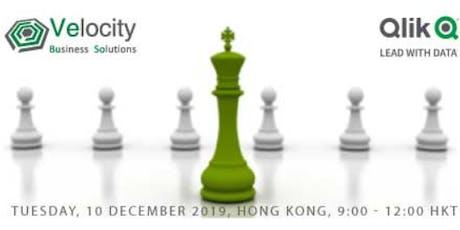 Qlik Sense Data Visualization Workshop (10 December 2019) tickets