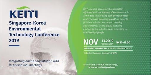 KEITI Singapore-Korea Environmental Technology Conference 2019