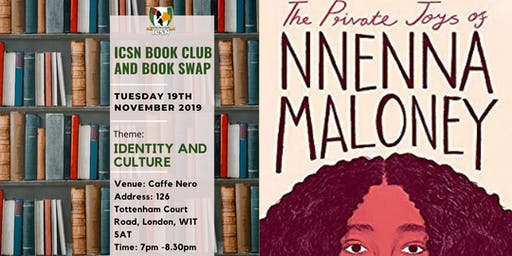 ICSN Book Club - The Private Joys of Nnenna Maloney