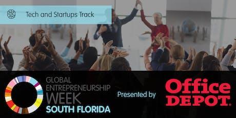 Global Entrepreneurship Week South Florida Tech & Startups Track tickets